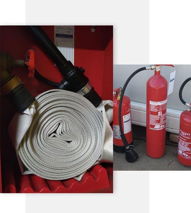 Manutenzione antincendio Roma